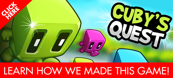 Cuby's Quest iPhone 7 game
