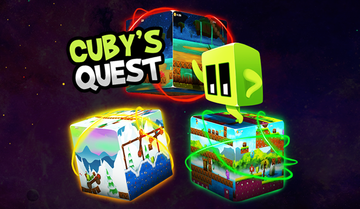 cubys quest splash screen