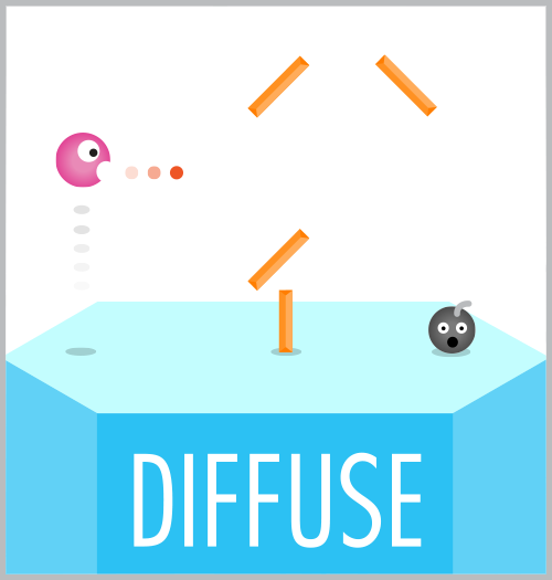 Diffuse! iOS Game from DeadCoolApps