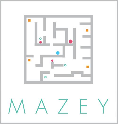 MAZEY iOS Minimal Puzzle Game